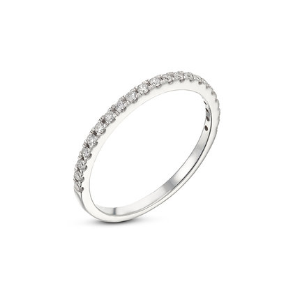 טבעת יהלומים קפיץ