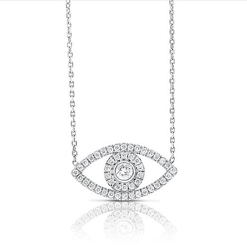 Eye diamonds pendant