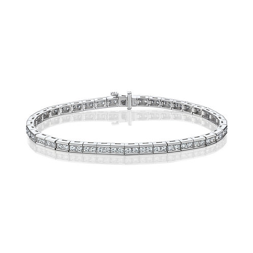 Tennis diamonds bracelet