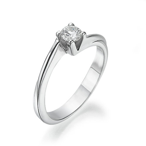 טבעת אירוסין טוויסט