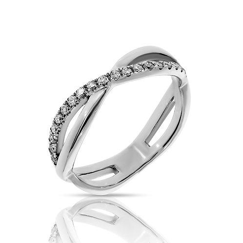 טבעת איטרנטי יהלומי אמרלד