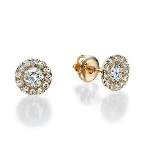 HALO DIAMONDS EARRINGS