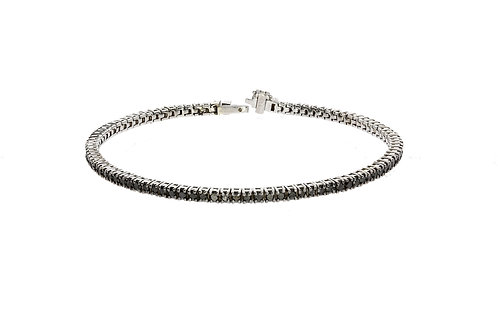 Black diamonds tennis bracelet