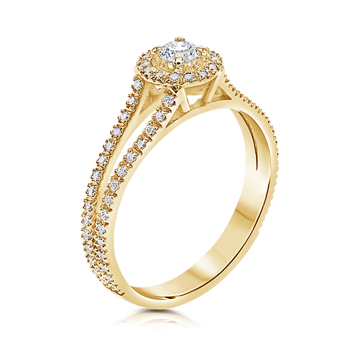 טבעת אירוסין הילו