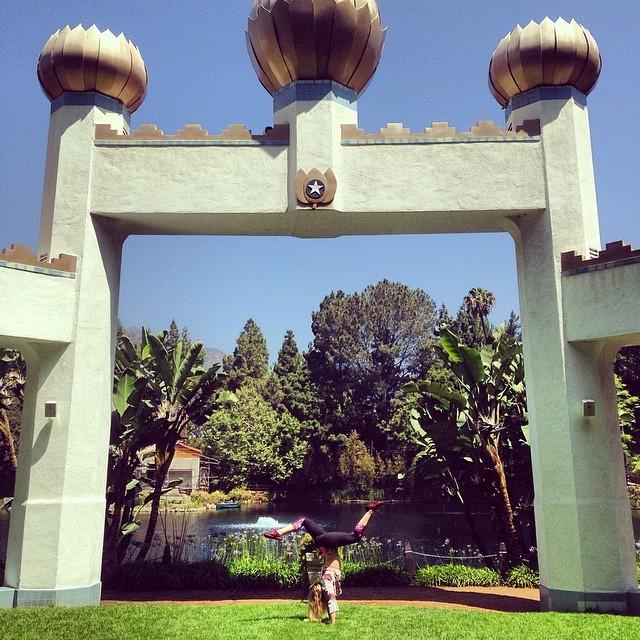 Yogananda's Meditation Garden, CA