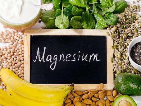 Notre feuilleton les éléments essentiels en micro-nutrition continue...3ème pilier : le magnésium