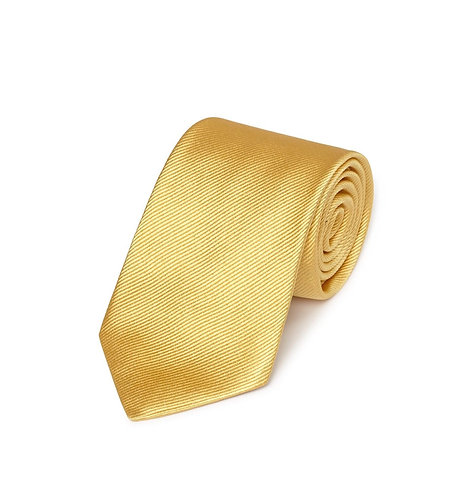 Woven Twill Tie Gold