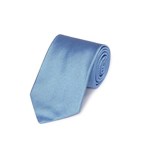 Woven Twill Tie Blue