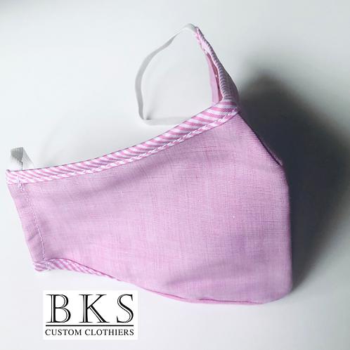 Face Mask - Pink Texture