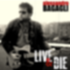 Live & Die album cover art by Alessandro Bagagli, founder of The Eve Band