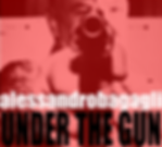 Under The Gun album cover art by Alessandro Bagagli, founder of The Eve Band