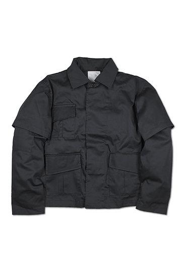Double Sleeve Military Jacket - 01