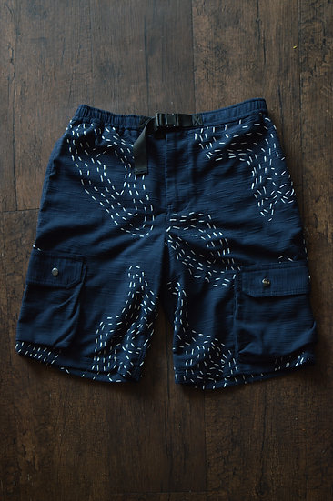 Embroidery Cargo Shorts
