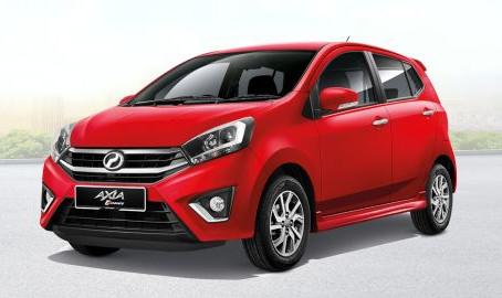 Perodua Axia 2018 Impression