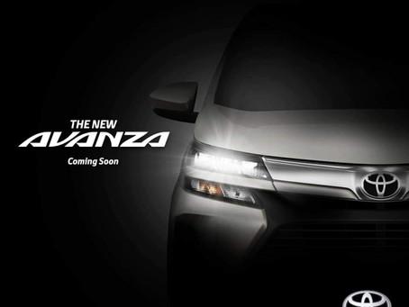 New Toyota Avanza Facelift
