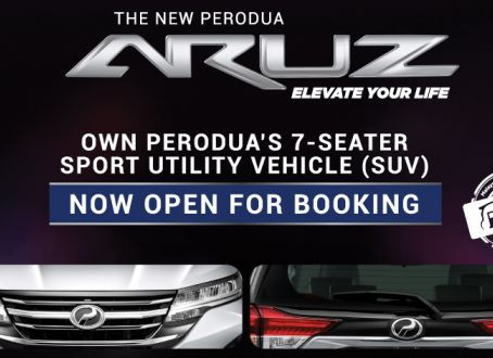 Perodua Aruz Pre-launch Booking
