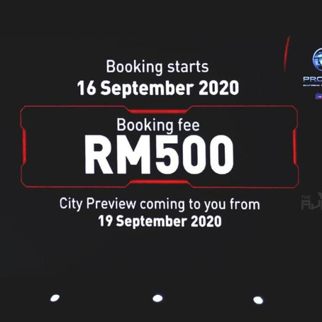 Proton X50 2020 Officially Open For Booking