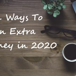 Best 101 Ways To Earn Extra Money in 2020