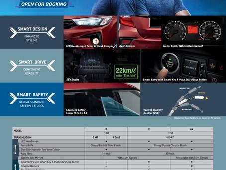Perodua Bezza 2020 Facelift