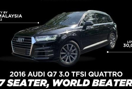 Audi Q7 3.0 TSFI Quattro Year 2016 For Sale