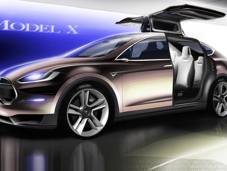 Tesla Model X For Booking