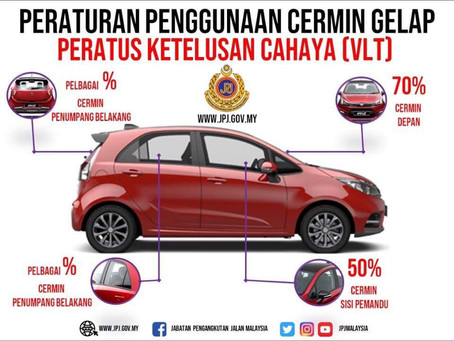 New Windscreen Tinting Rules For Malaysian Cars