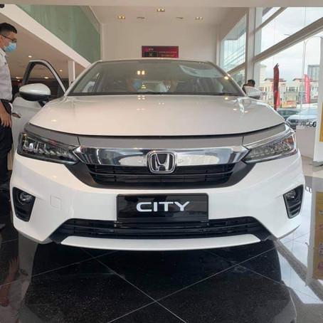 New Honda City Facelift Galleries