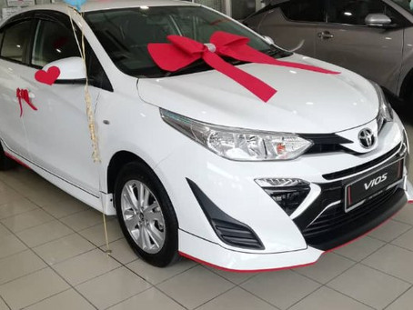 All New Toyota Vios 2019