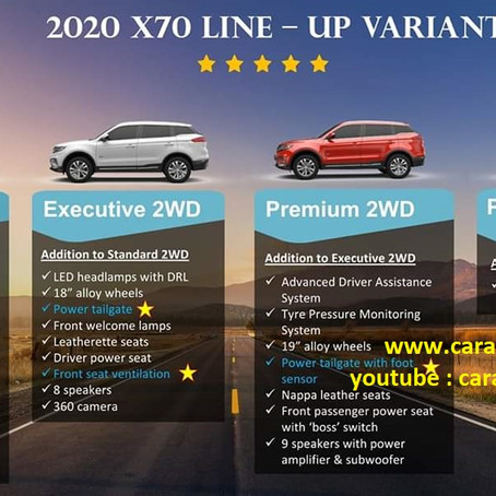What's New For Proton X70 CKD Version?