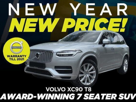 Volvo XC90 T8 Hybrid Year 2016 For Sale
