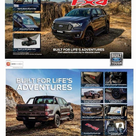 The New Ford Ranger FX4 Launching 03.06.2020