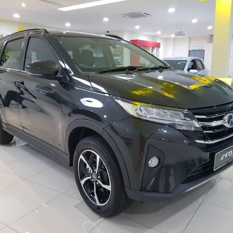 Perodua Aruz Price Up in February?