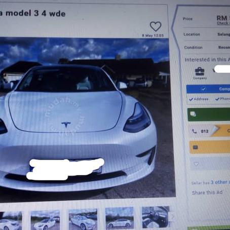 Tesla Model 3 Price War In Malaysia