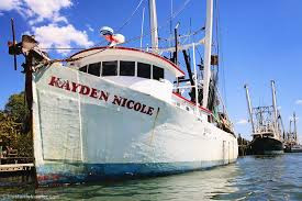 One of our great captains decided to branch out and buy himself a boat. He named his boat after his grandson, Kayden Nicole.