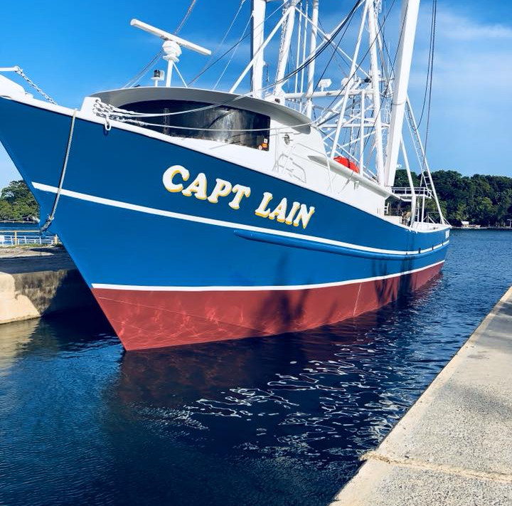 The Captain Lain is our biggest boat in the fleet.