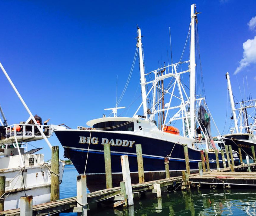 The Big Daddy, one of our biggest boats, is named after one of our owners George Gala.