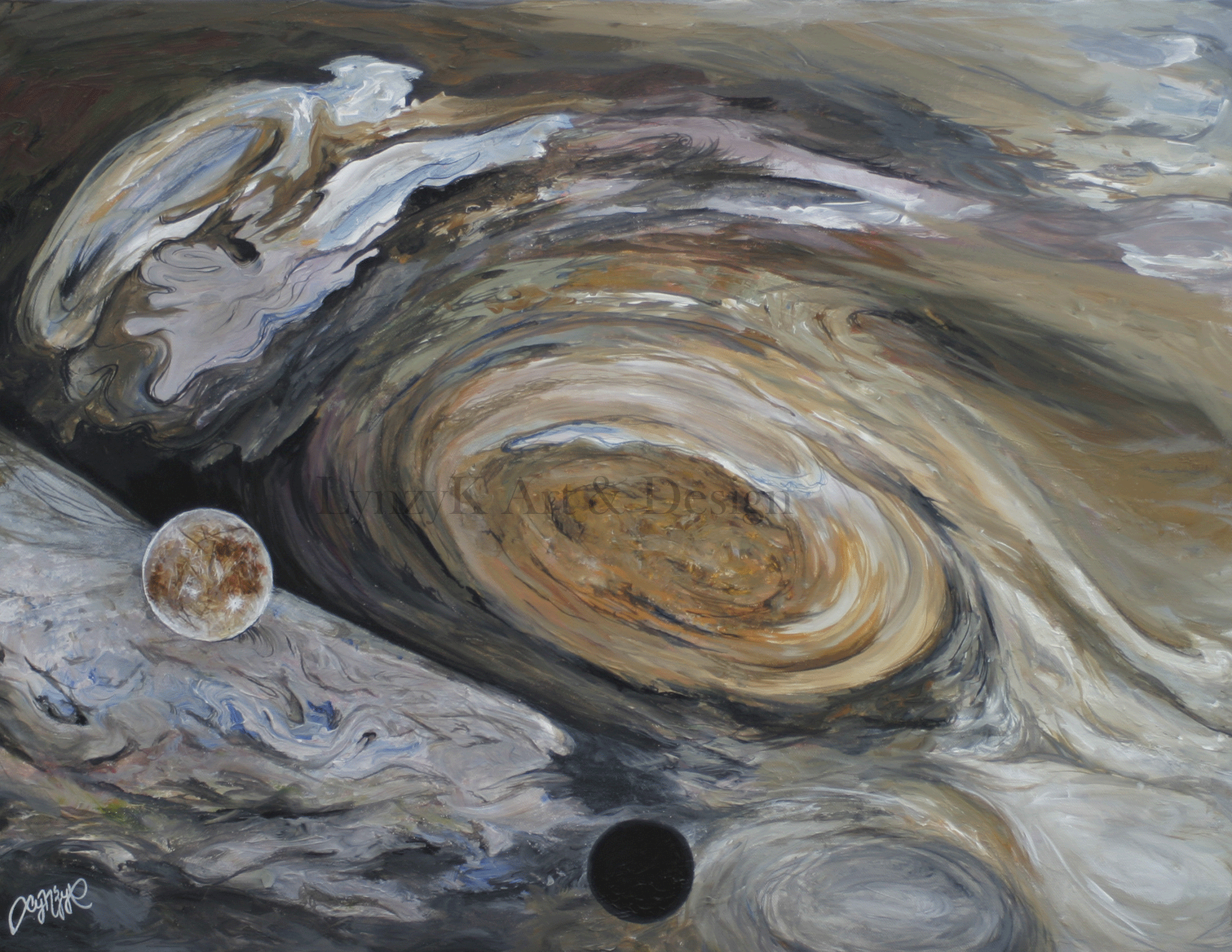 Jupiter-Water
