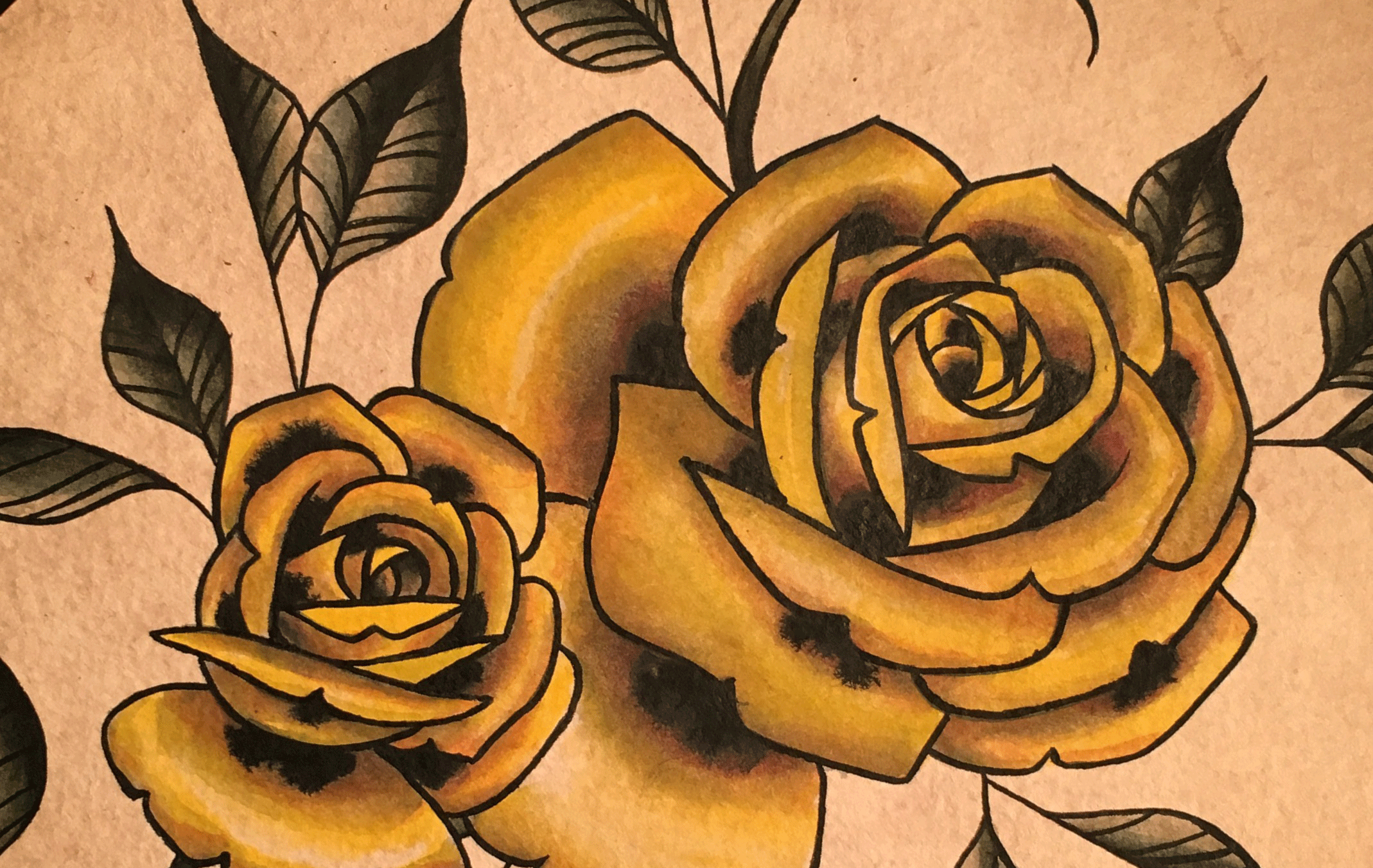 GoldRoses.Background1