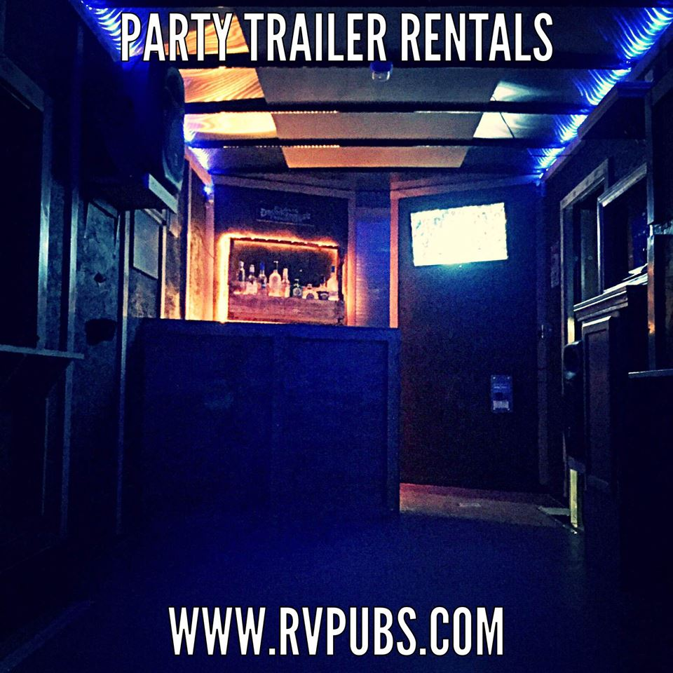 Inside Rv Pubs Party Trailer