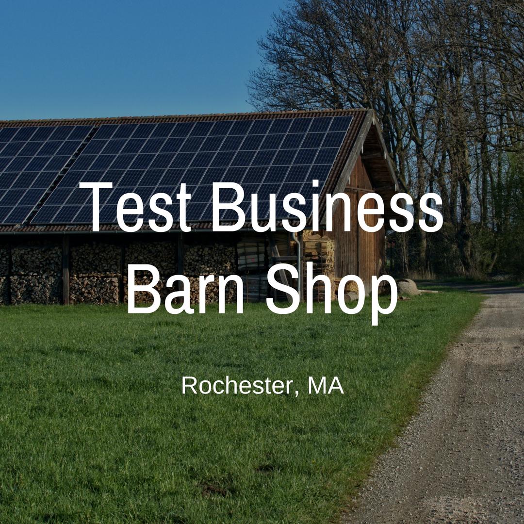 Test Business Photo no cursive