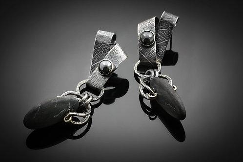 Stonewear earrings, 3