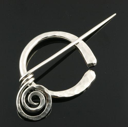 Letting Go Penannular Pin, variation 1