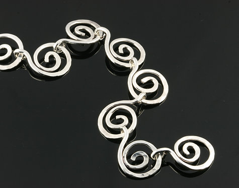 Letting Go Spiral Necklace