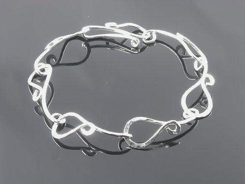 Letting Go Hook Link Bracelet