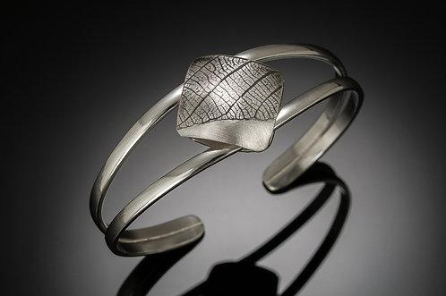 Square Leaf cuff bracelet