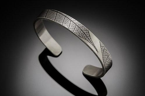 Minimalist Leaf cuff bracelet