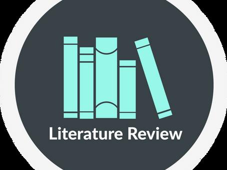 איך לכתוב סקירת ספרות באנגלית