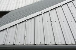 GroMast Application on Steel Roof
