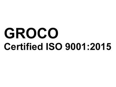 GROCO:  Certified ISO 9001:2015 Company