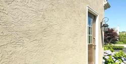 Apartment Maintenance Coating on Stucco Wall